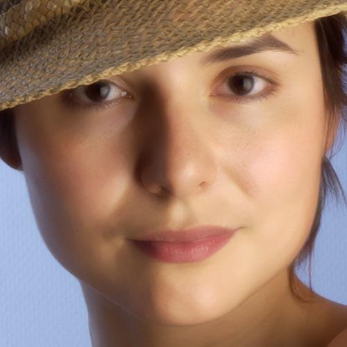 median Làn Da Mịn Màng với Các Công Cụ Photoshop